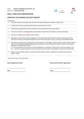11100 Final Completion Memorandum.xlsx
